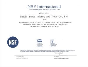 nsf certified filter