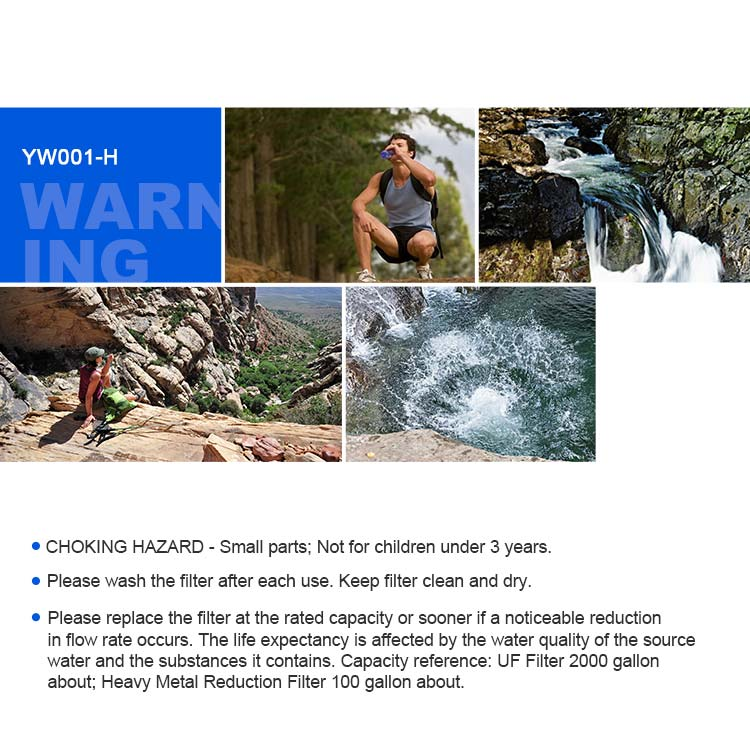 portable water filter for camping
