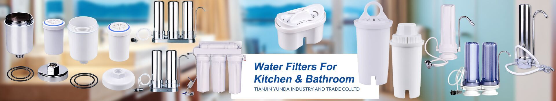 Water Filters For Kitchen & Bathroom