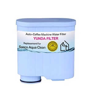 Replacement filter for SAECO AQUA CLEAN coffee machine