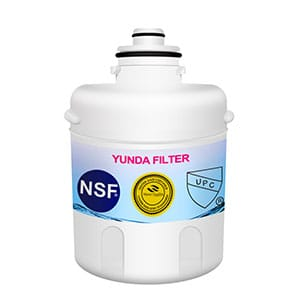 Water filter for GE refrigerator fit MXRC NSF42 certified
