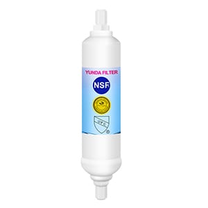 Inline refrigerator water filter replacement for WHIRLPOOL
