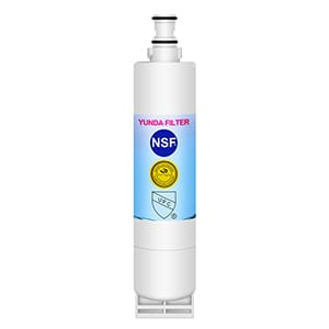 Premium refrigerator water filter replacement for WHIRLPOOL 4396508, 4396510