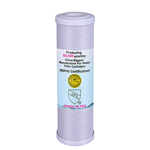 10 Inch Activated Carbon Water Filters(CTO10) Suppler