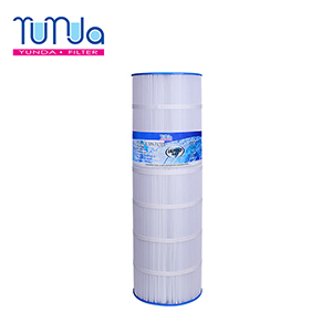 Swimming pool filtration PLF150A with large filtration area and dirt capacity