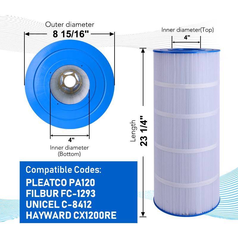 Pleatco PA120