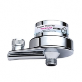 Shower head filter for hard water compatible with Chrome Culligan