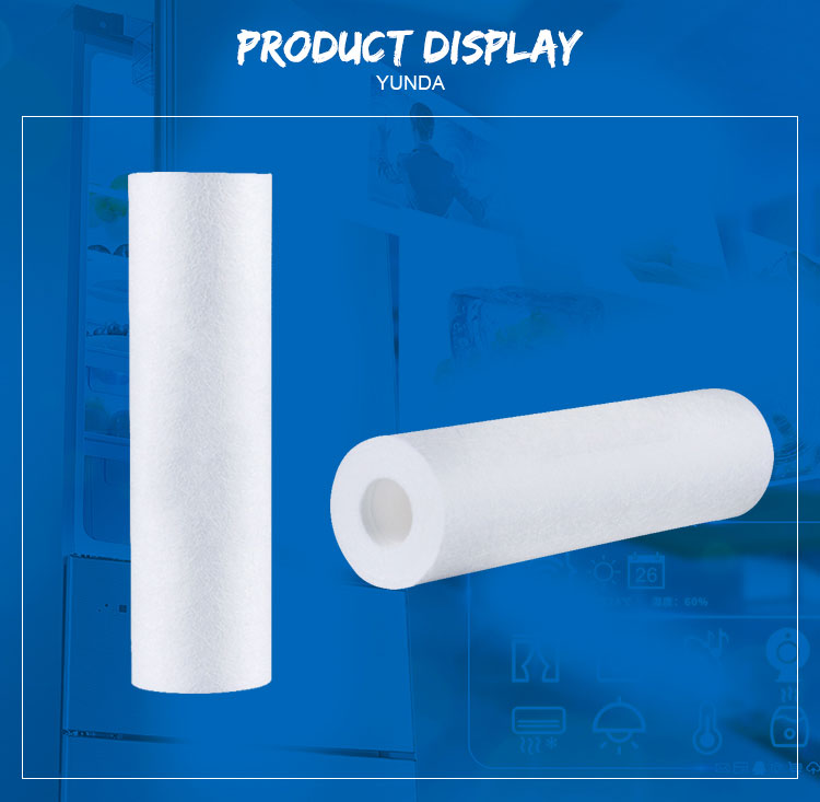 10 Inch PP Sediment Water Filter Cartridge For RO System