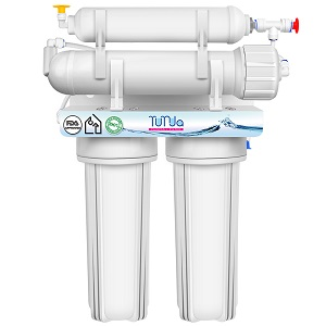 4 STAGE Reverse Osmosis System For House