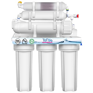 6-STAGE Under Sink Reverse Osmosis System For Home