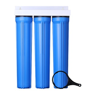 3-Stage 2.5X20 Inch Water Filter Housing