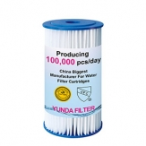 10 Inch Big Blue PP Pleated Water Filter Cartridge