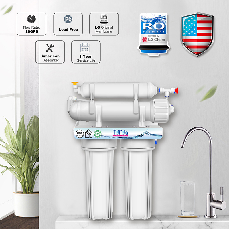 4-Stage RO Water Filtration