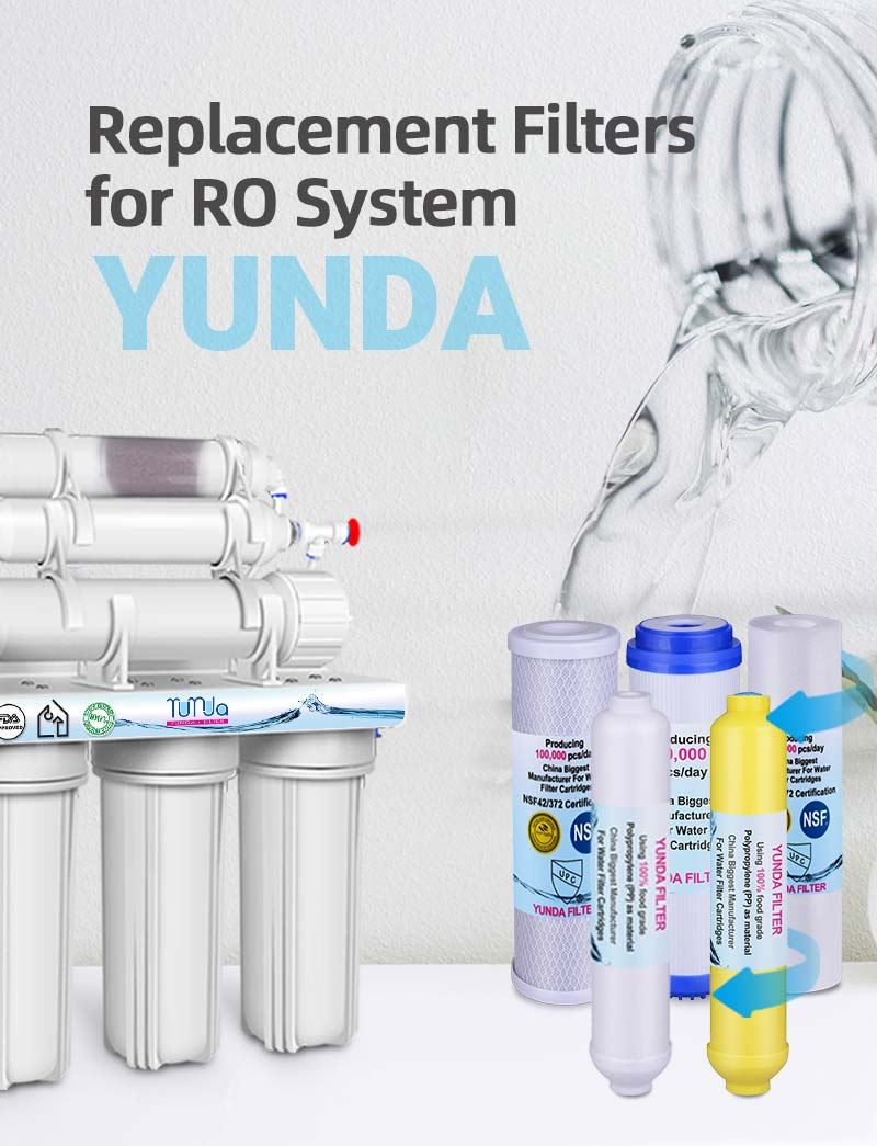 6 Stage Reverse Osmosis Filter Replacement, RO Cartridges Bulk-buying