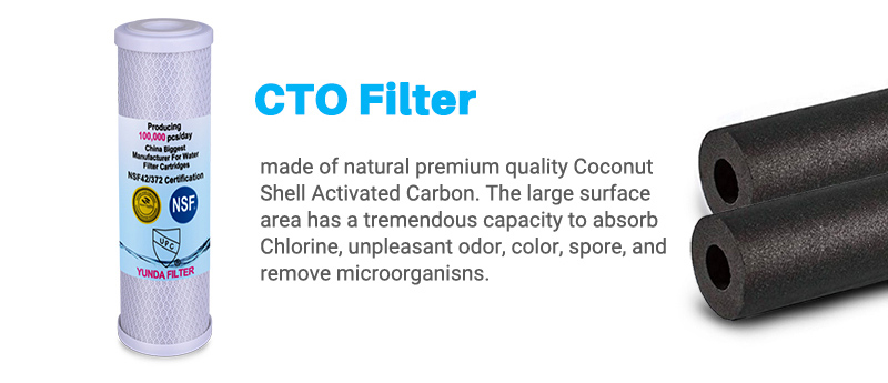 5 Stage Water Filter Cartridge, RO System Filters Manufacturer