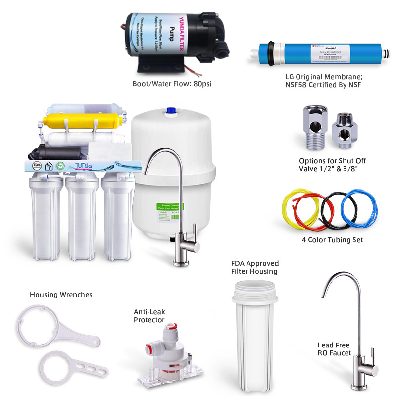 7 Stage RO System with Pump, Best 7 Stage Water Filter System