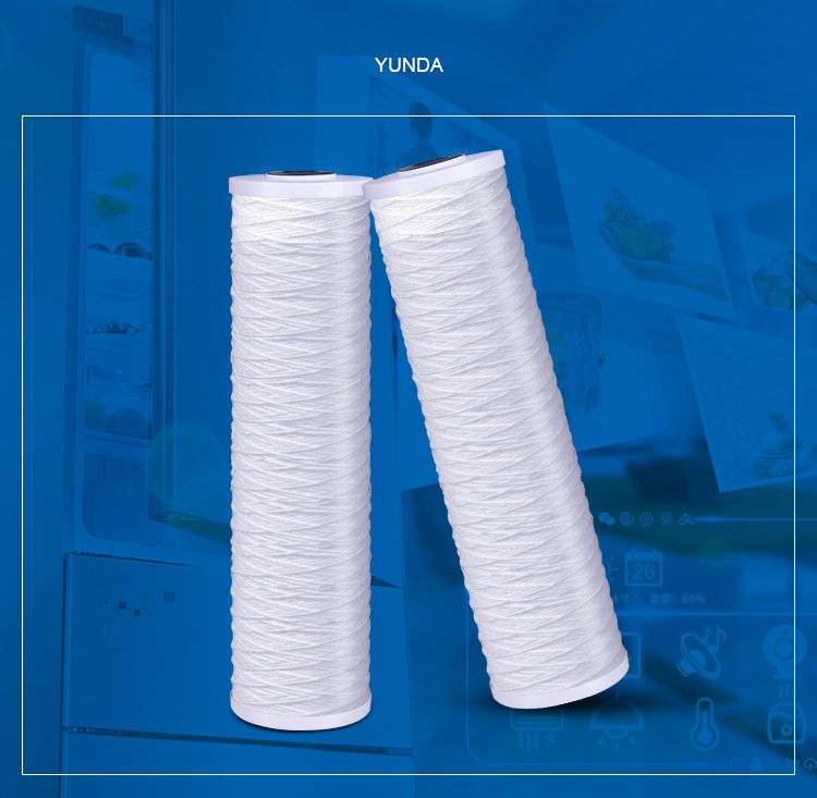 String Wound Whole House Water Filters 20, Big Blue PP String Filter