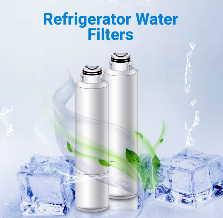 GE Refrigerator Water Filter GXRLQR, Compatible With GE GXRLQR