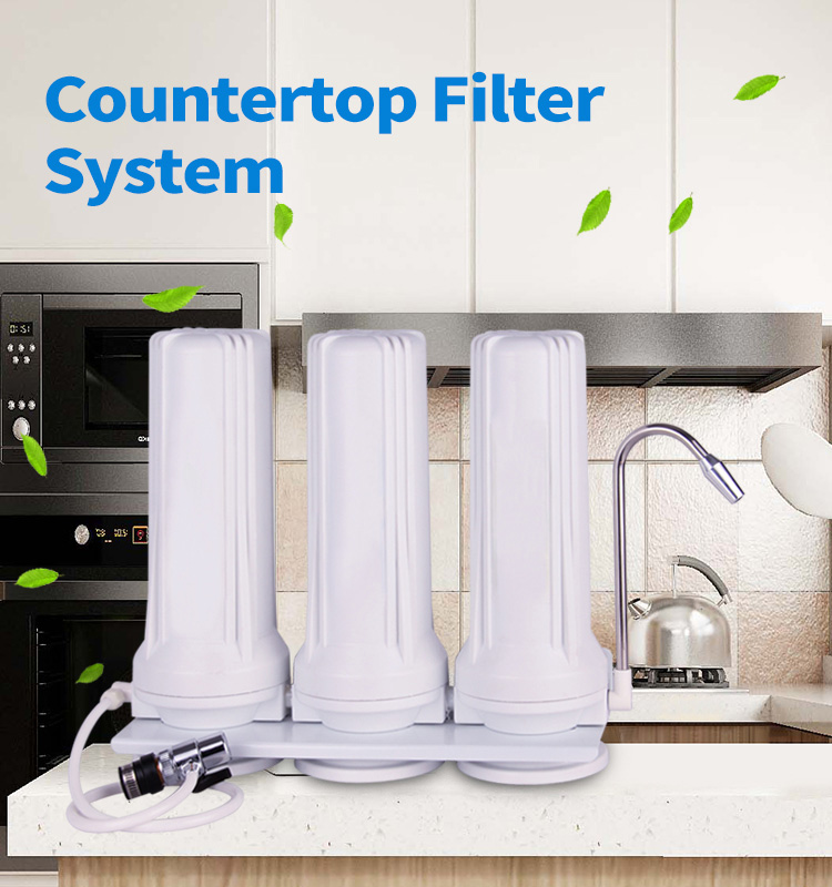 Countertop Water Filter, 3 Stage Wate Filter