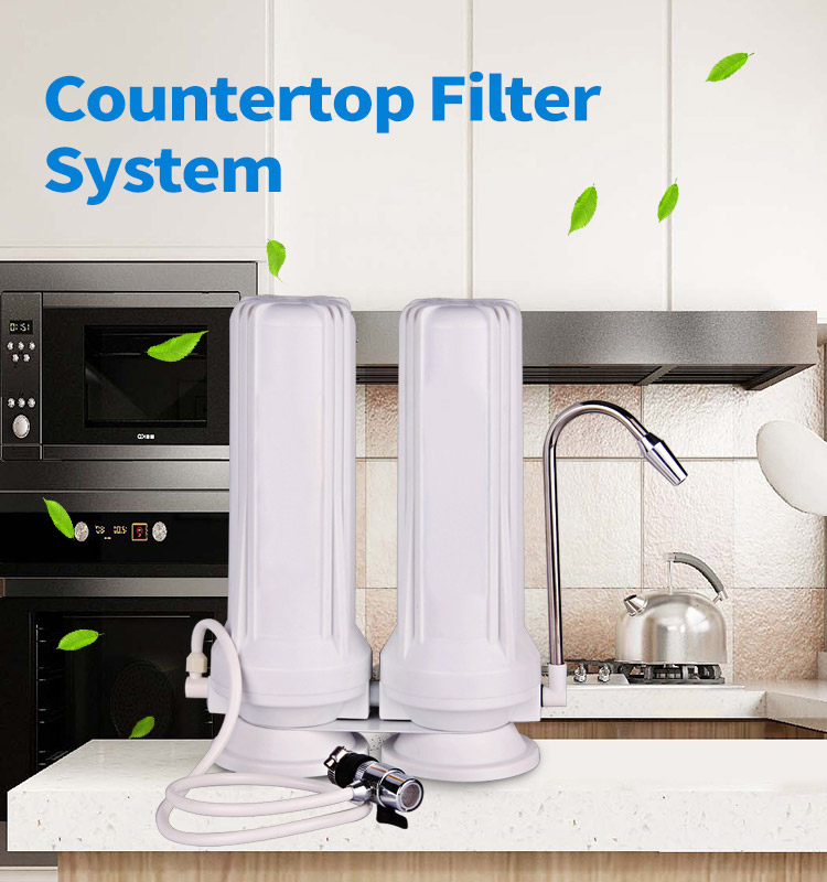 Best Countertop Water Filter, 2 Stage Water Filter