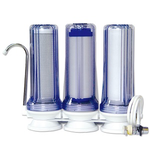 3 Stage Table Top Water Filter