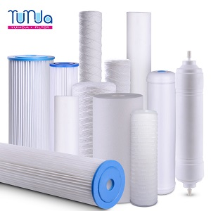 Low Price Wholesale Sediment Filters-PP Spun, String-Wound and Pleated Styles