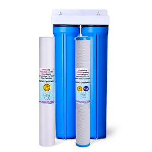 2-Stage 2.5X20 Inch Whole House Water Filter System