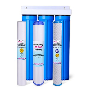 3-Stage 2.5X20 Inch Whole House Water Filter System