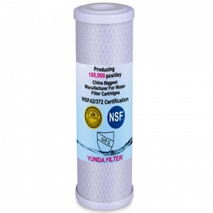 Type of Water Filter Cartridges