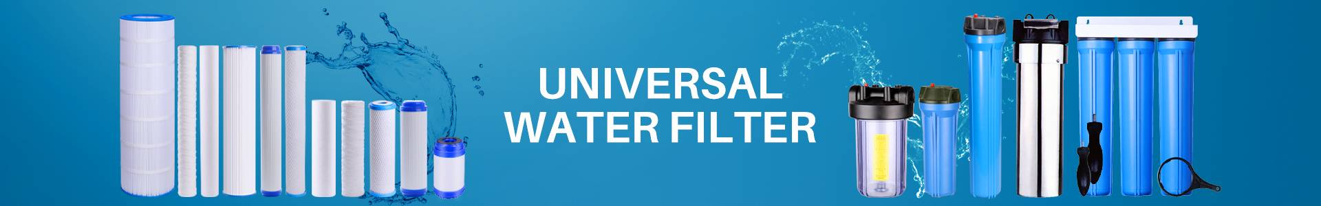 GAC/UDF Water Filter Cartridge
