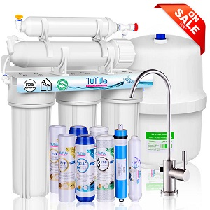 NSF Certified 5 Stage RO Water System With Faucet and Tank