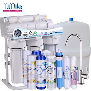 New Arrival Low Price RO Water System With Pump, Faucet and Tank