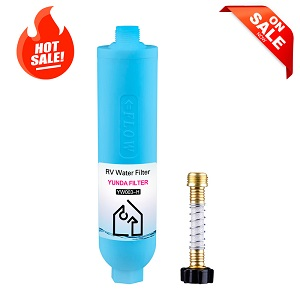 Low Price KDF+Activated Carbon RV Water Filter Compatible with Camco 40043