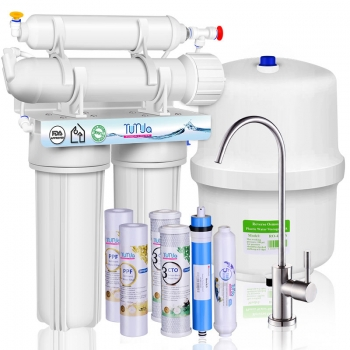 4-Stage Reverse Osmosis System and 5-Stage Reverse Osmosis