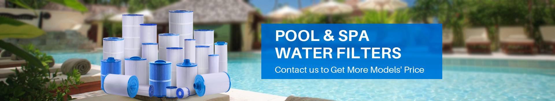 Pool & Spa Water Filters