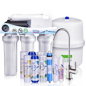 New Arrival Wholesale Price 45$ RO Water System With Pump, Faucet and Tank