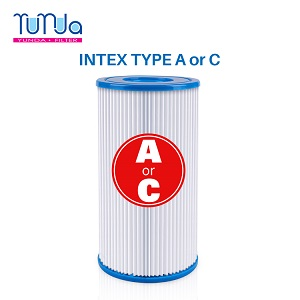 Spa Filter Replace for Intex Type A or C, Fits for Intex 29000E/59900E