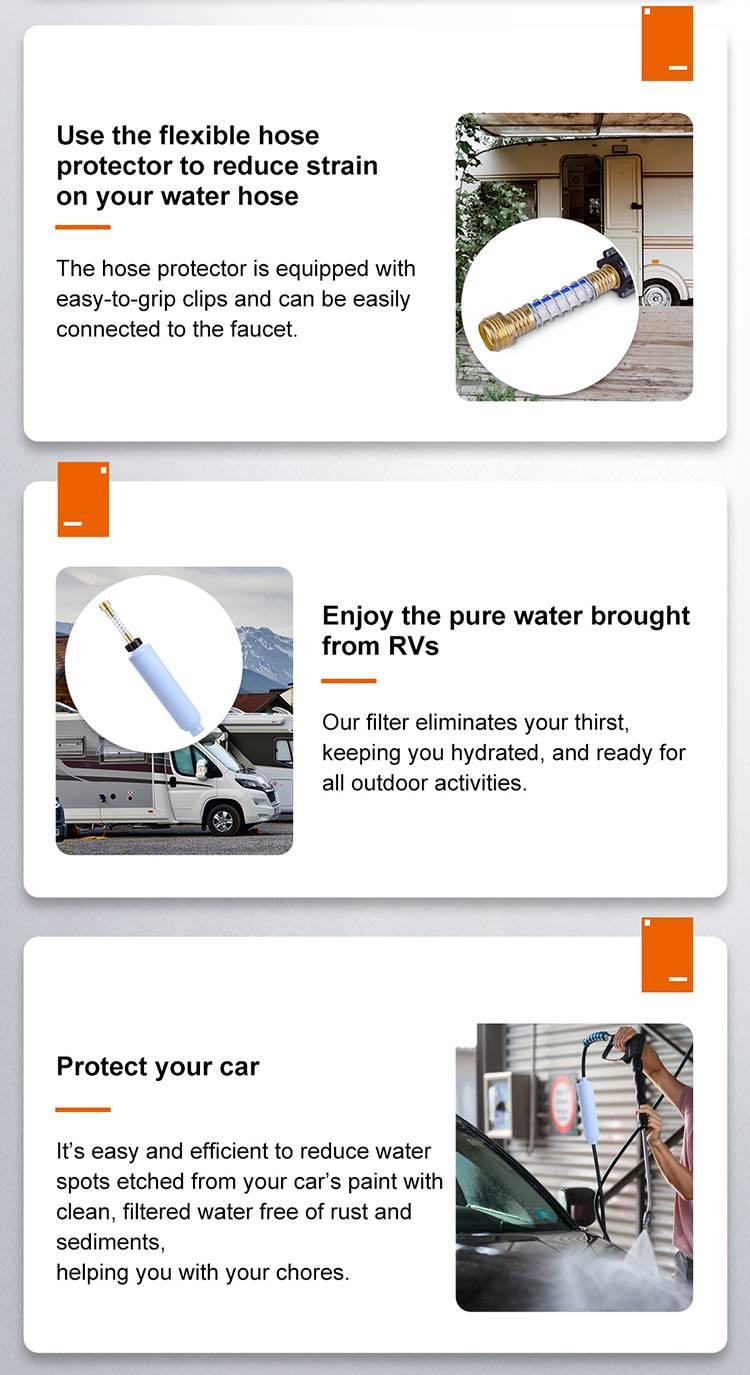 RV Inline Water Filter