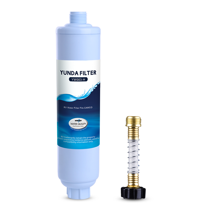Three Types of RV Water Filters