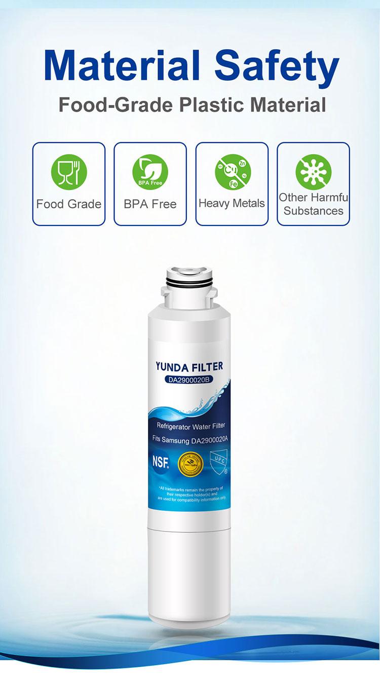 DA2900020B Filter Replecement for Samsung Refrigerator Water Filter
