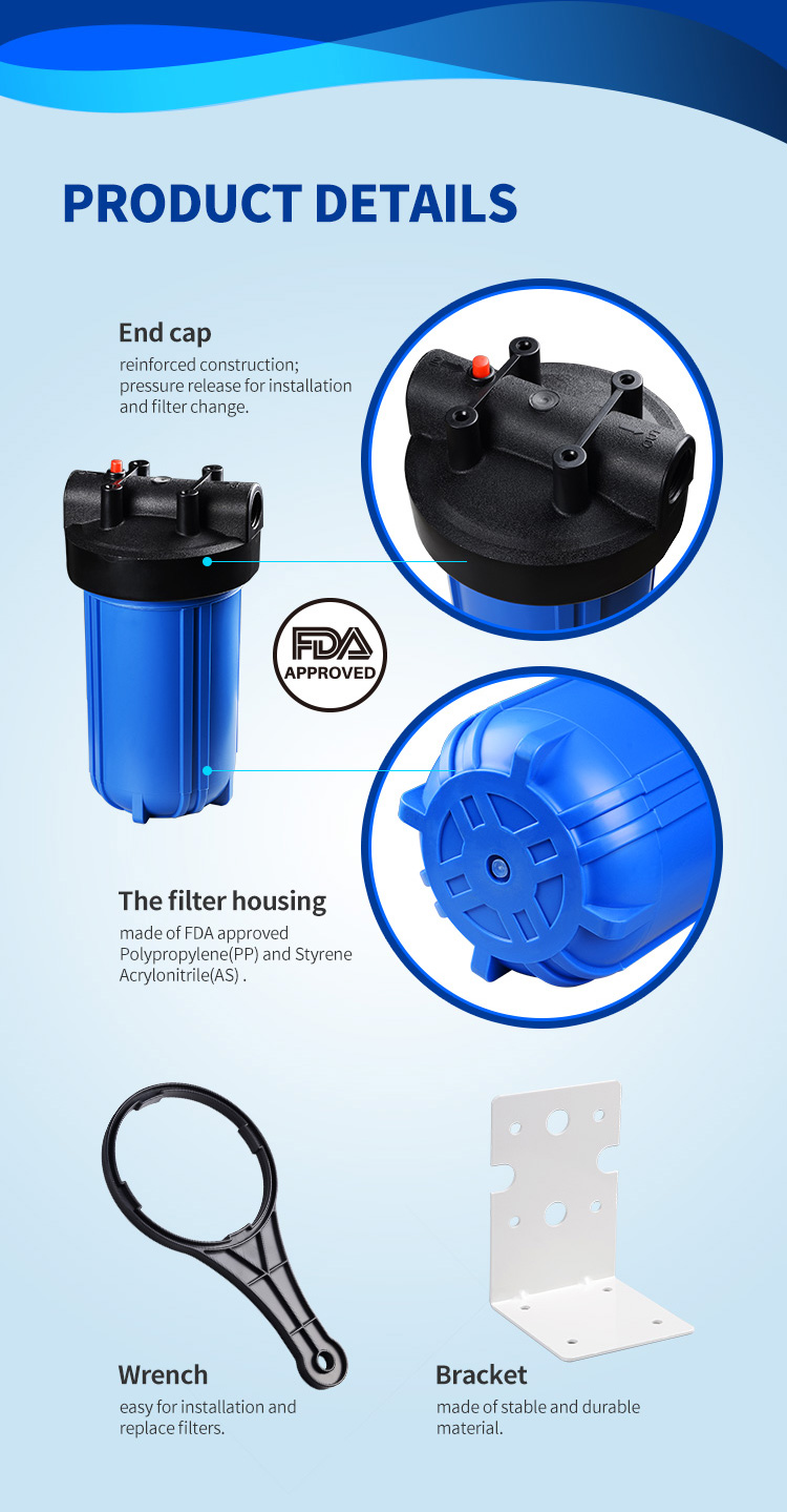 Big Blue 10 inch Water Filter