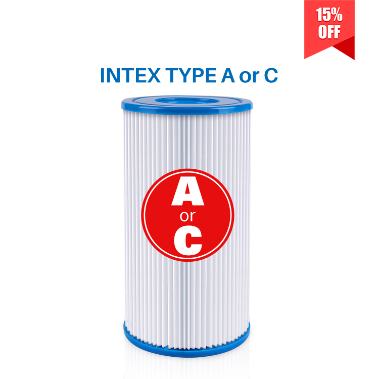 Pool Filter Type A or C Replacement for Intex Pools