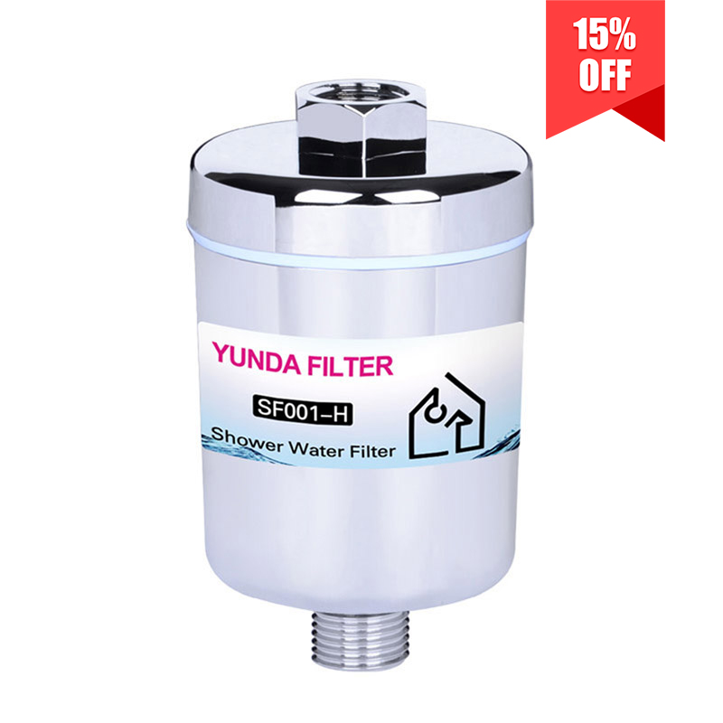 6-Stage Chrome Universal Shower Water Filter System With Best Price