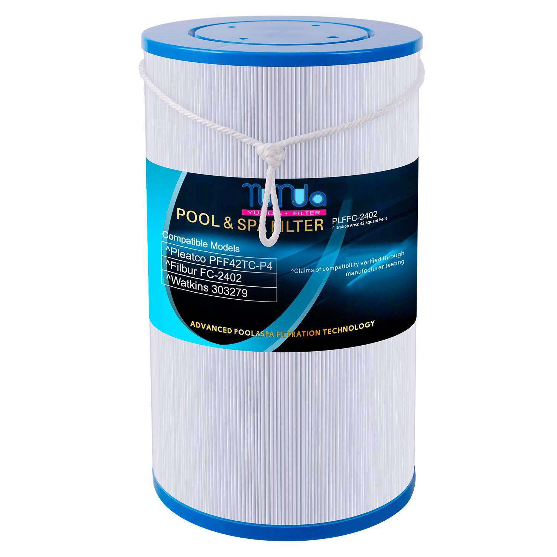 Spa Filter Fits for Pleatco PFF42TC-P4, UNICEL FC-2402, Watkins 303279